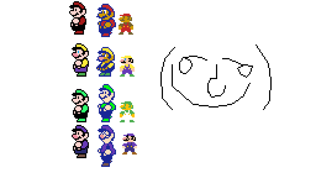 main-image-Mario 1,2,3 Sprites   by PokeSloth21