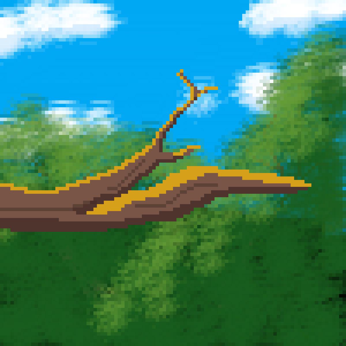 TreeLimb (without bird yet) by VLPine