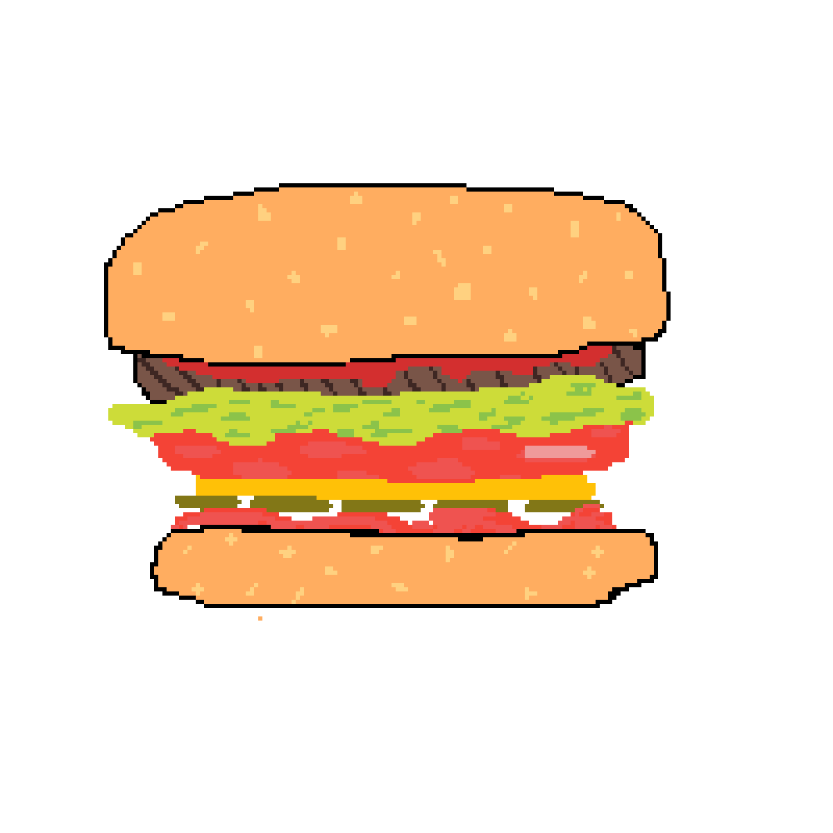 Burger by phoenixfire777