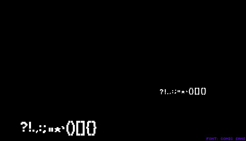 Pixilart Ut Comic Sans Font Generator V3 By Leobars17