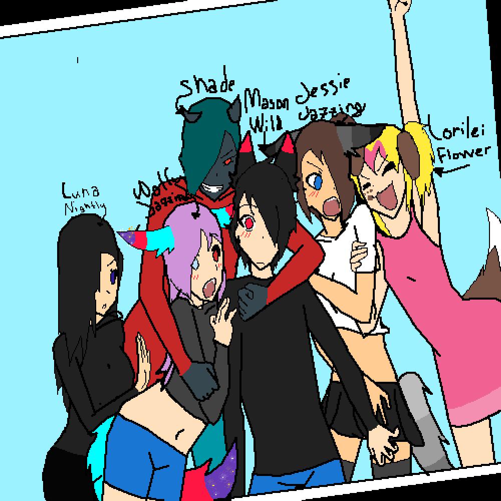 My Friend Group! by JessieJazzing