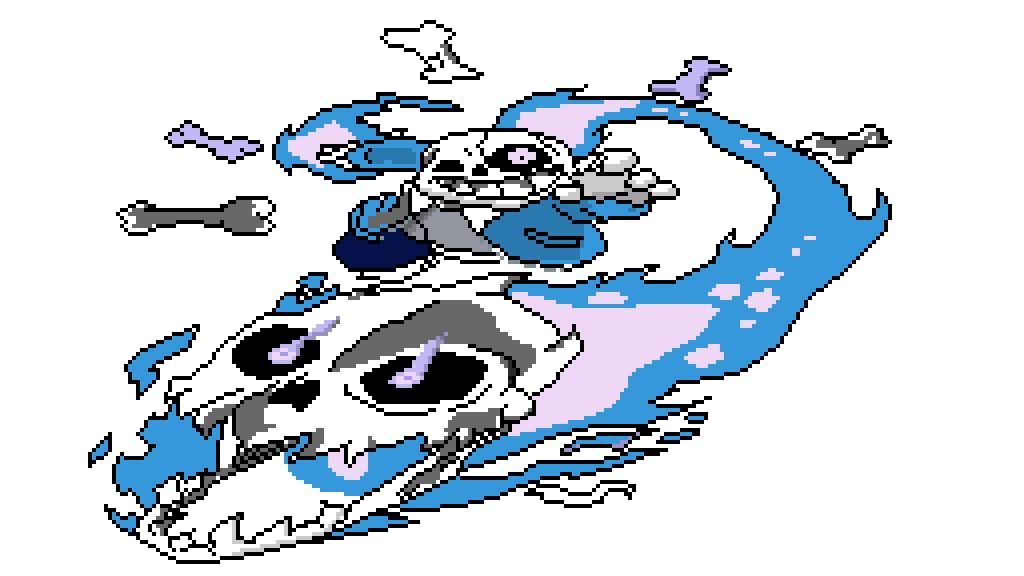 Pixilart Megolovania By Mysteryd314 Megolovania might be the final boss theme, and thus if genocide was the same as no mercy nuteral, asriel dreemurr might have megalovania as his boss theme. pixilart megolovania by mysteryd314