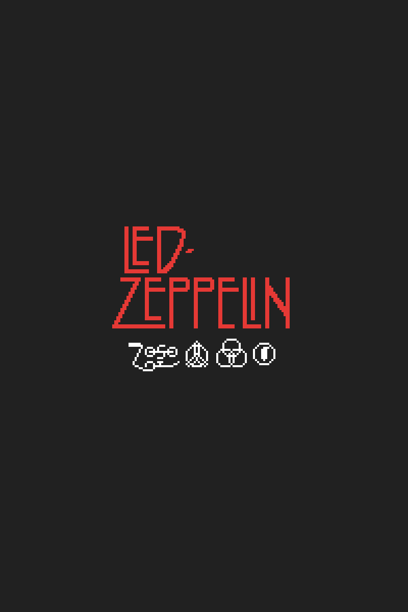 Pixilart Led Zeppelin 4 Symbols By Sycerius