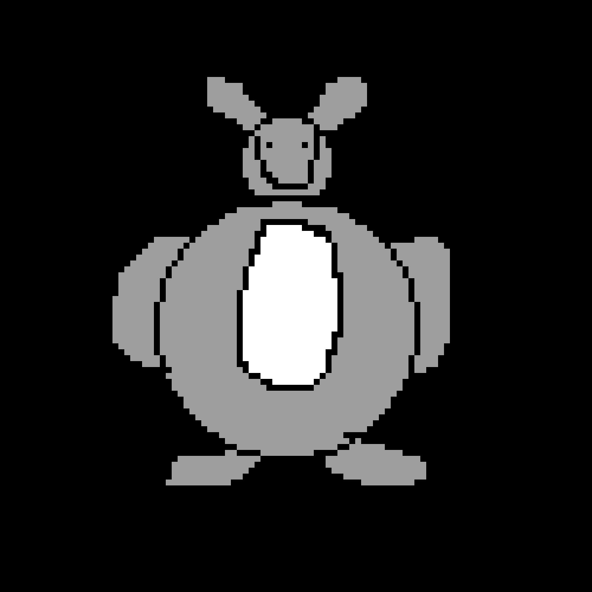 Pixilart Big Chungus By Marshmello360