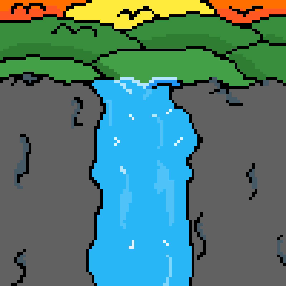 main-image-Waterfall  by XxcoreanimexX