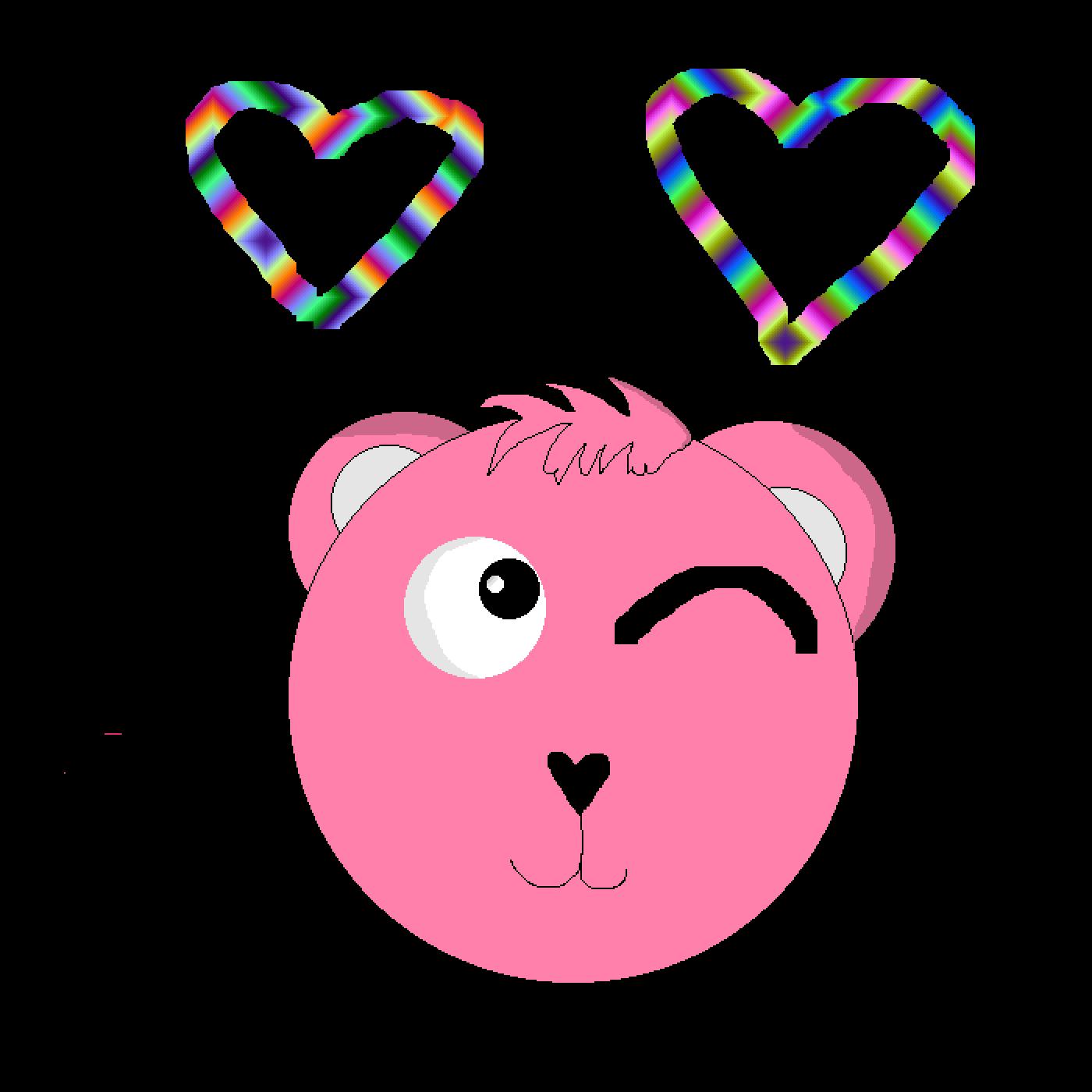 Pink Cuddle Team Leader by Zer0-B1ackF1re