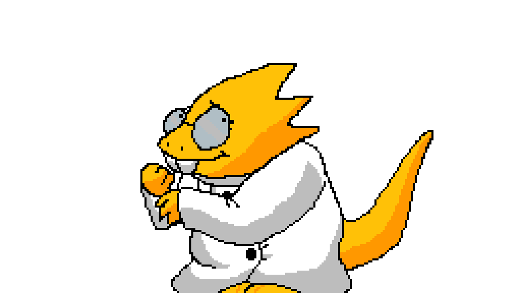 Alphys by WantedTNT