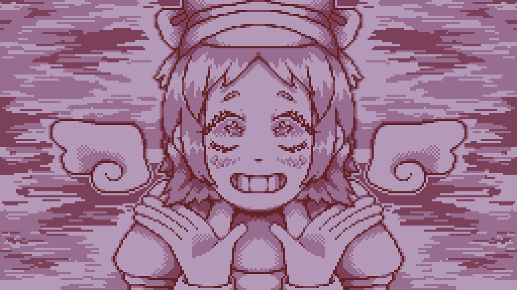 Another Retro Girl by MagicaJaphet