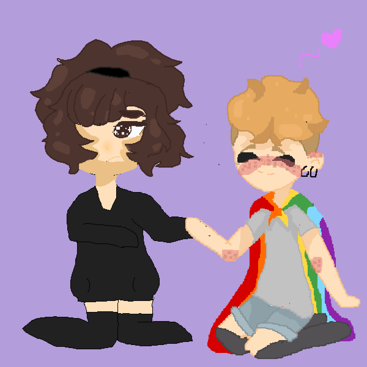 Collab with @Krisdinoloves by OwO-Sky-UwU