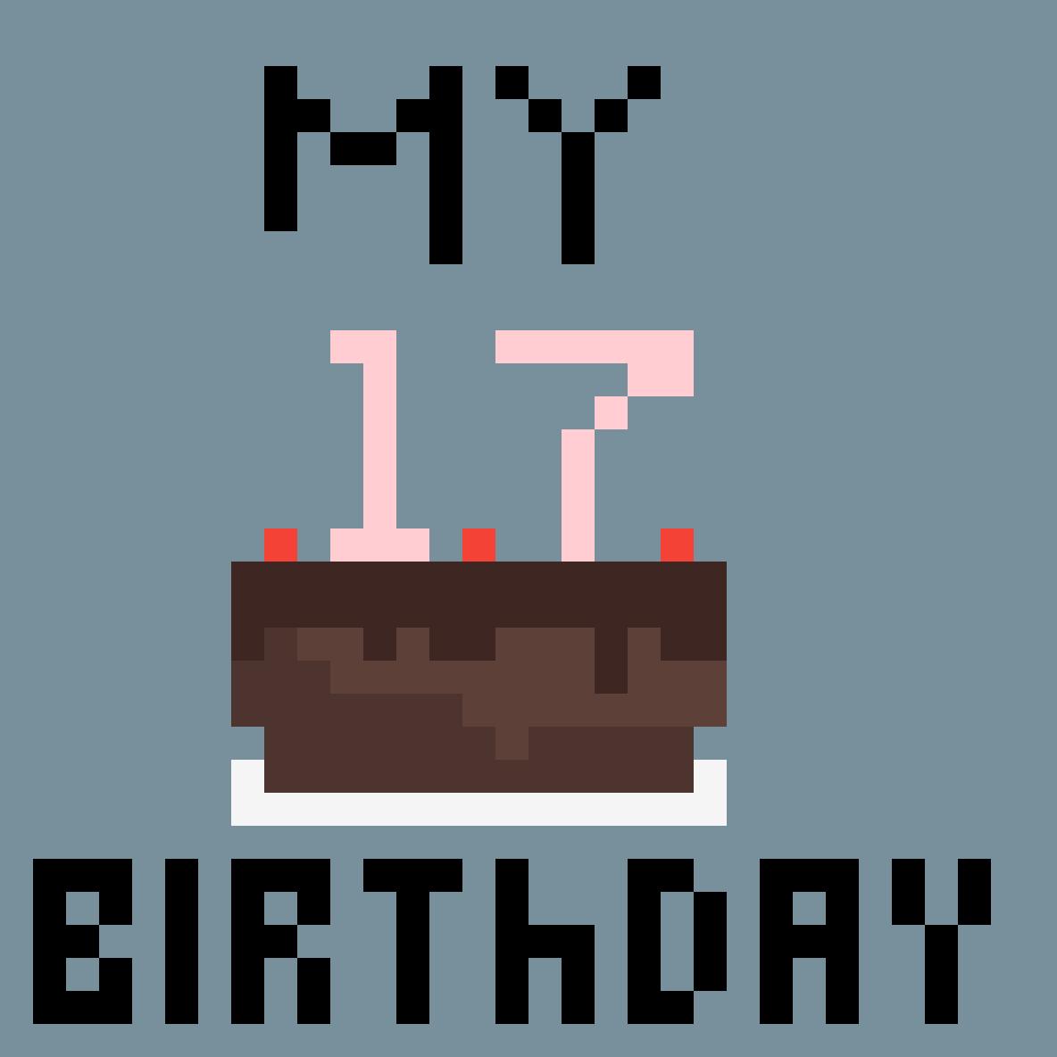 My birthday by Daesook