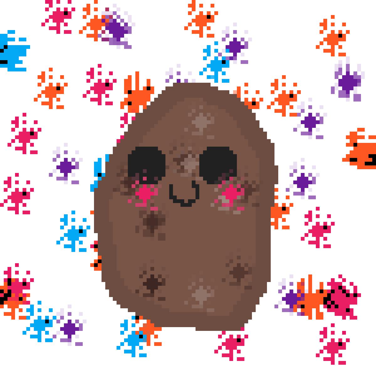 Smol potato! by SilentMoons