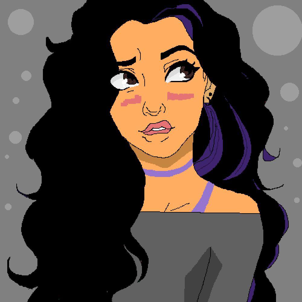 Violet Casia by Cendra