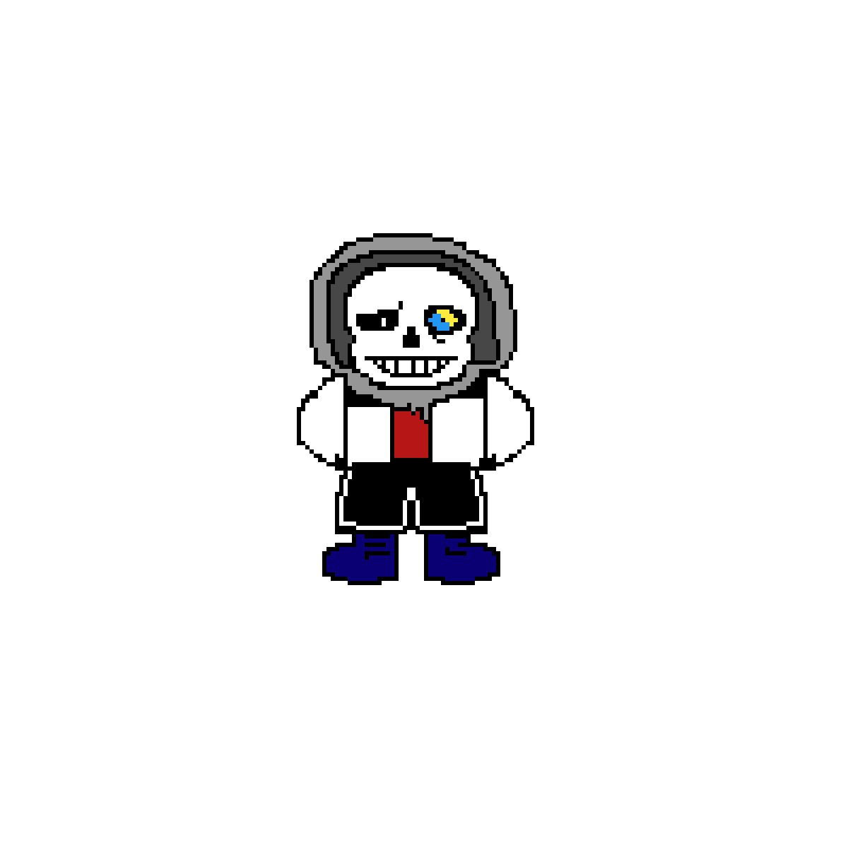 Disbelief Unkown sans phase 1 by Adrianoow