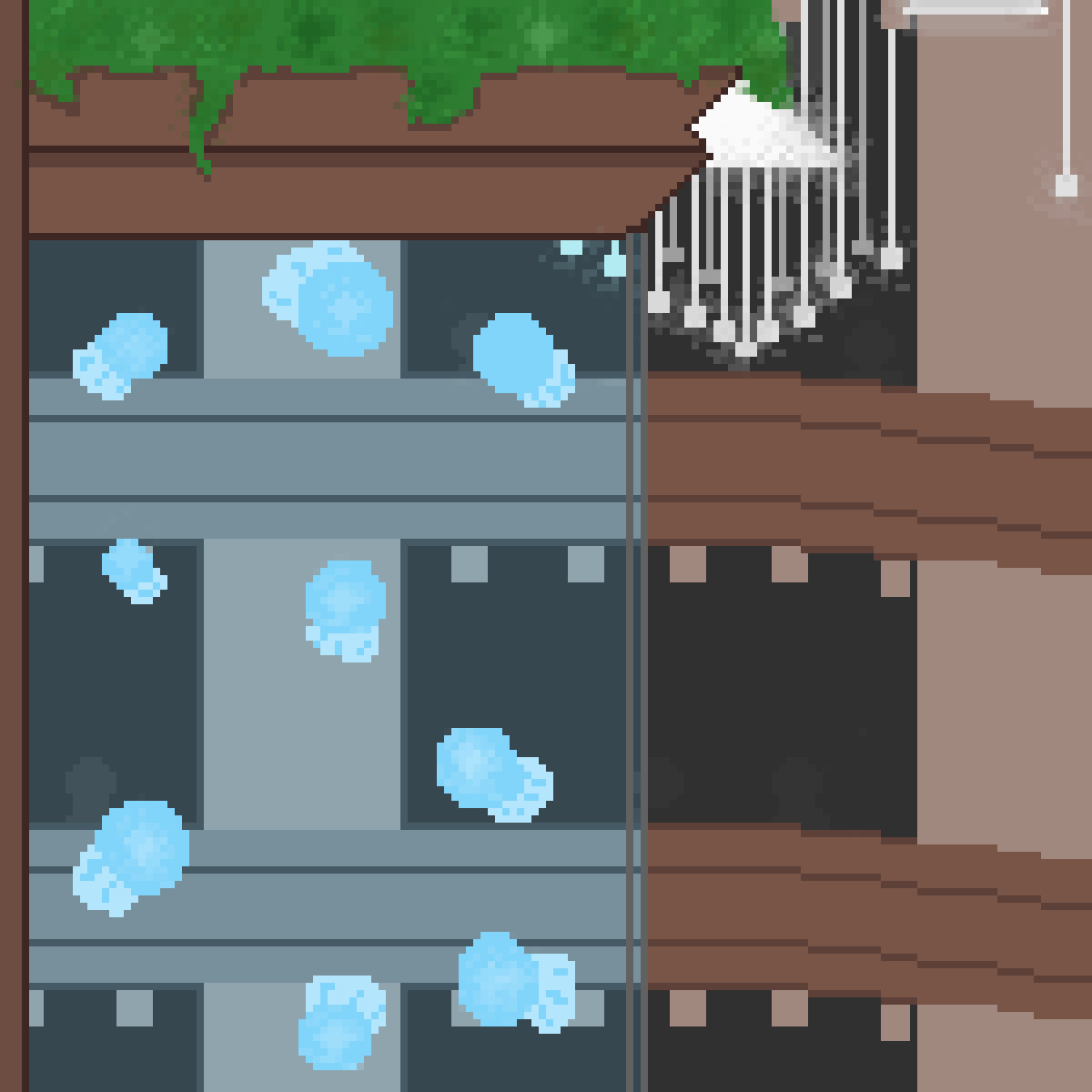 Death Parade Jellyfish Tank by LionArtist