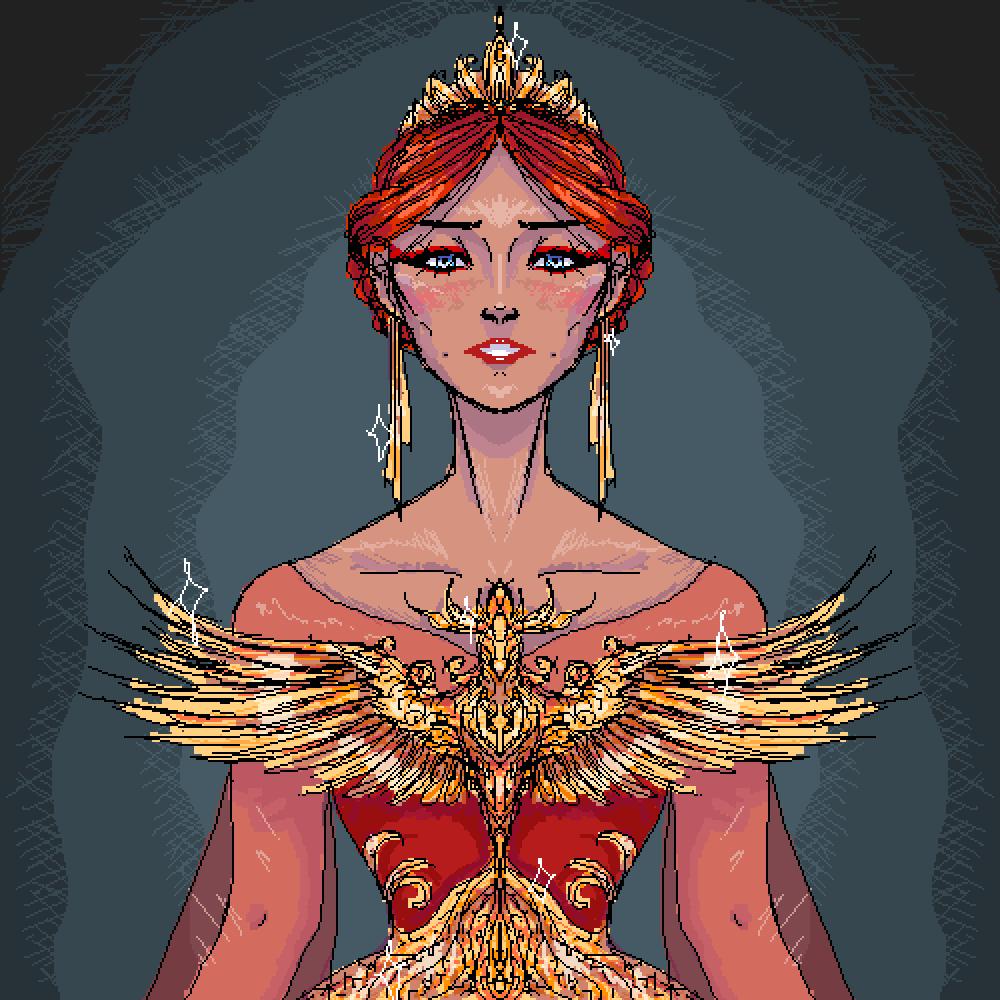 Phoenix Queen by Valiaris
