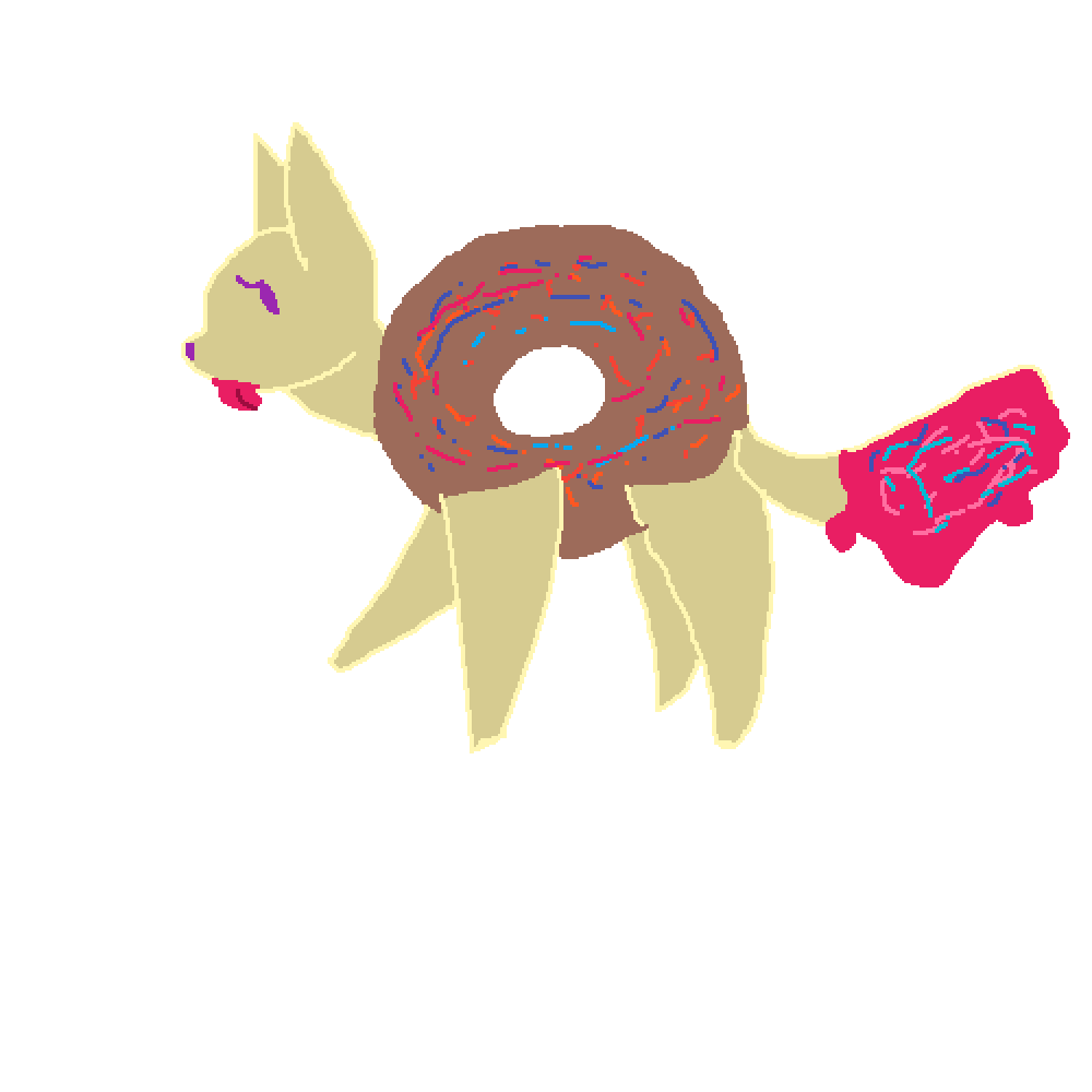 donut cat request by Livial