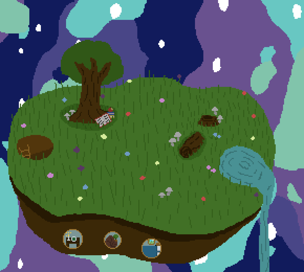 Island home by Pixil-Potato