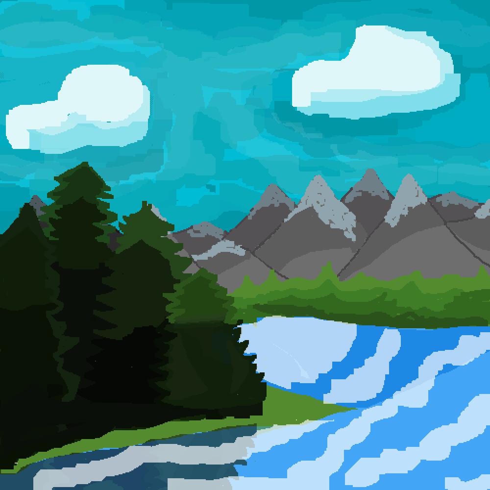 Landscape by KittyCute10