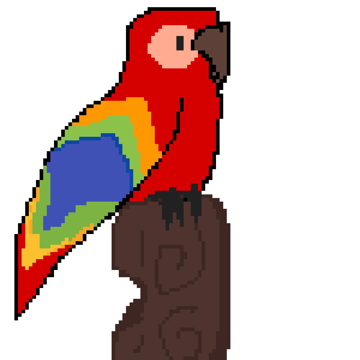 Parrot by rarapiopio