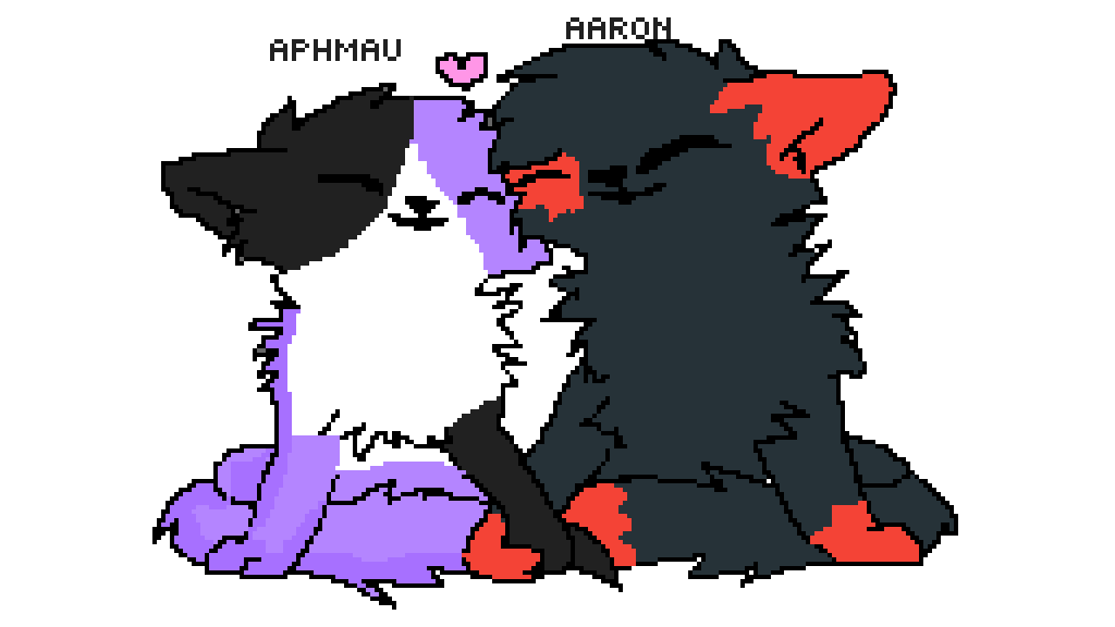 aphmau loves aaron (if you don't know them go to youtub
