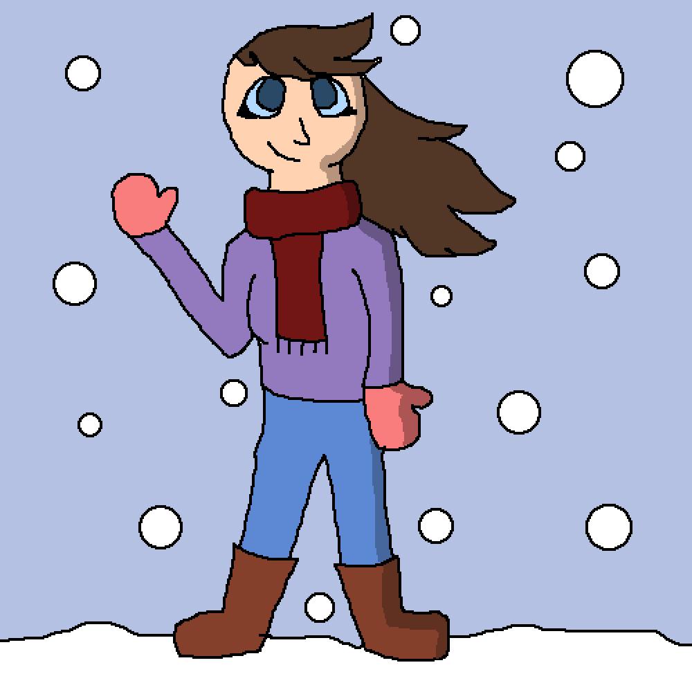 main-image-Winter girl  by LunaArt