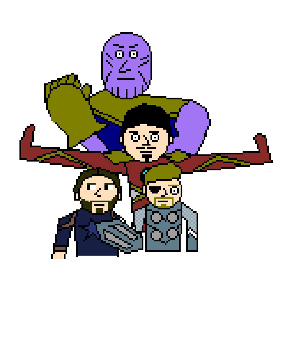 Infinity War - In work by Pixel-Lord-12
