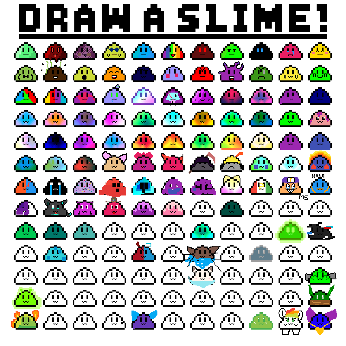 DRAW A SLIME! by FireheartDraws