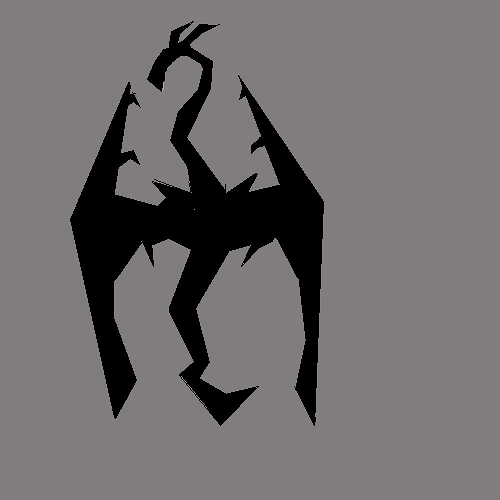 Skyrim Imperial Dragon by BleedingWolf