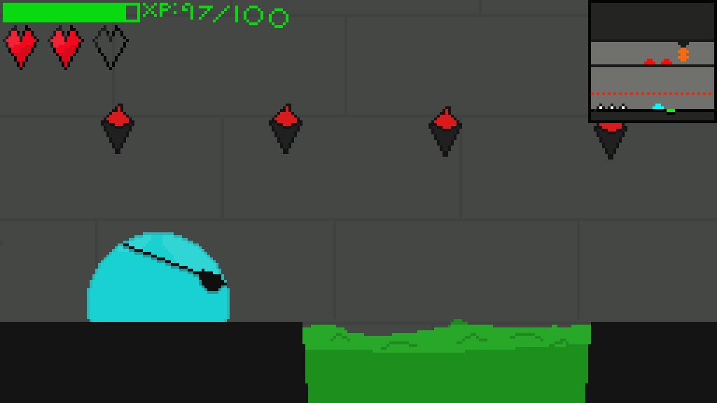 Slimer: Castle Invaders.