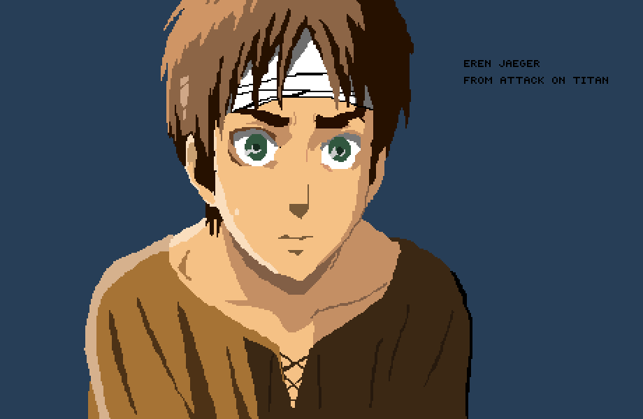 Eren Jaeger from Attack on Titan by SYGRYT