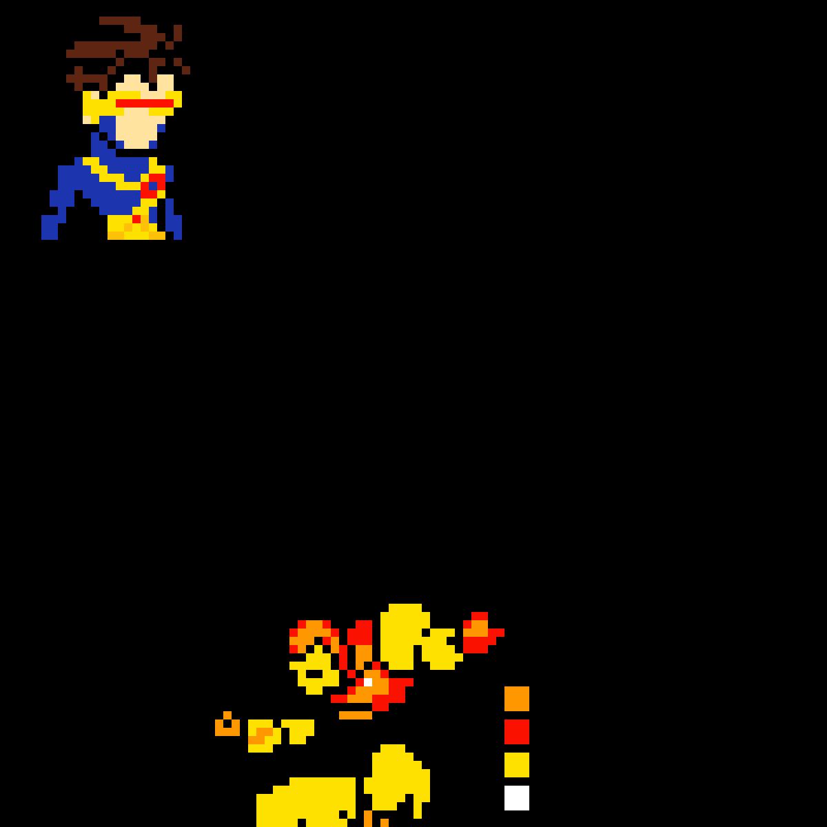 Superhero Logos by PixilPug