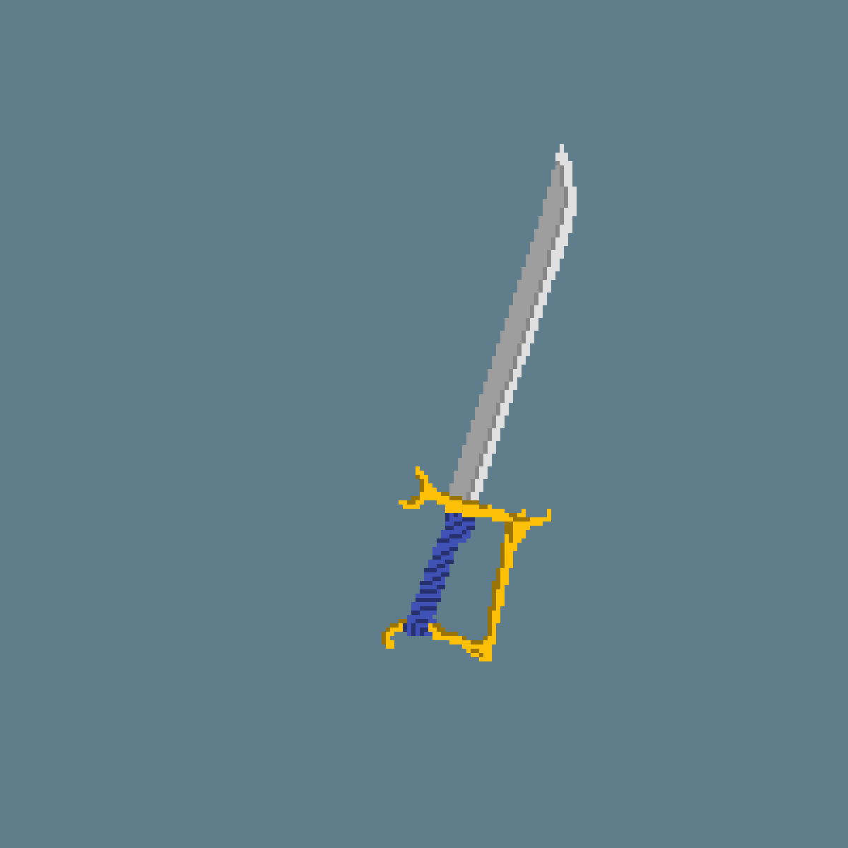 main-image-mega plain navy sword of the sorts  by DomBomDom