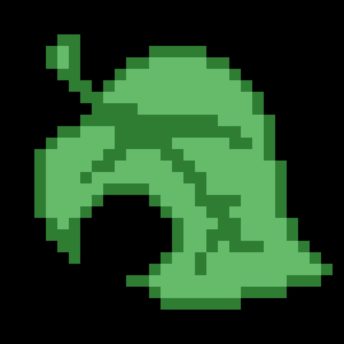 Transparent Animal Crossing Leaf Logo