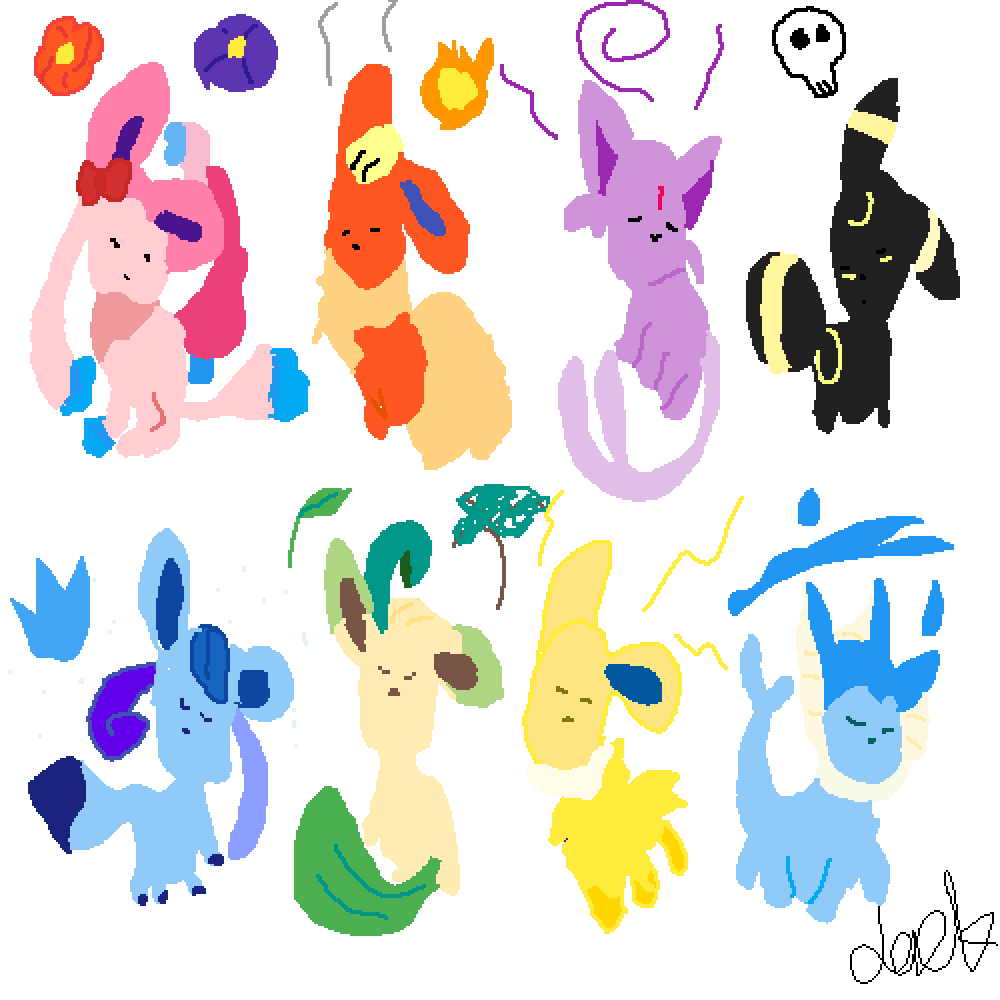 main-image-evee evolutions   by jackypoh123