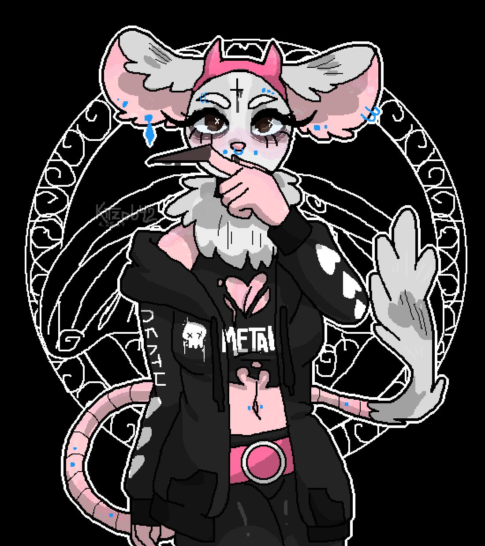 Goth Gerbil Girl