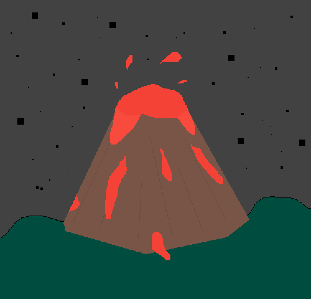 Volcano. by lillepa72