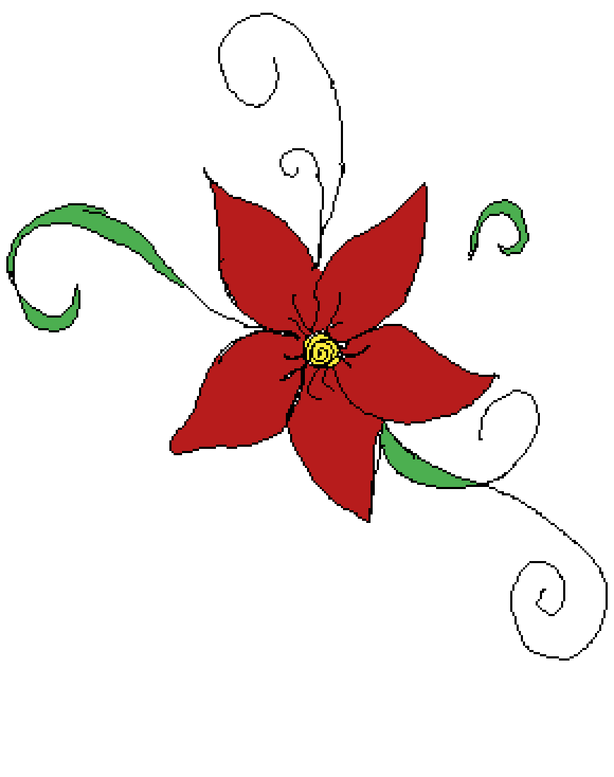 Flower drawing by Jungkook-4-Life