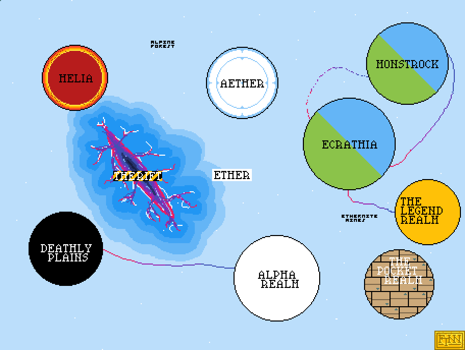 main-image-Map Of Ether  by Finnasdf
