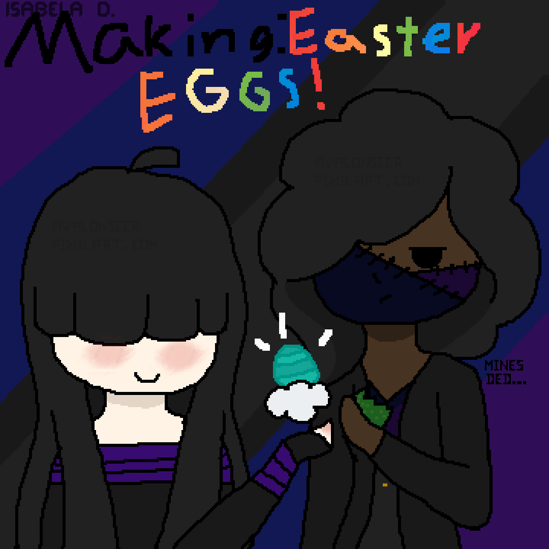 Making Easter Eggs with Ragdoll and Alice by AvalonSeer