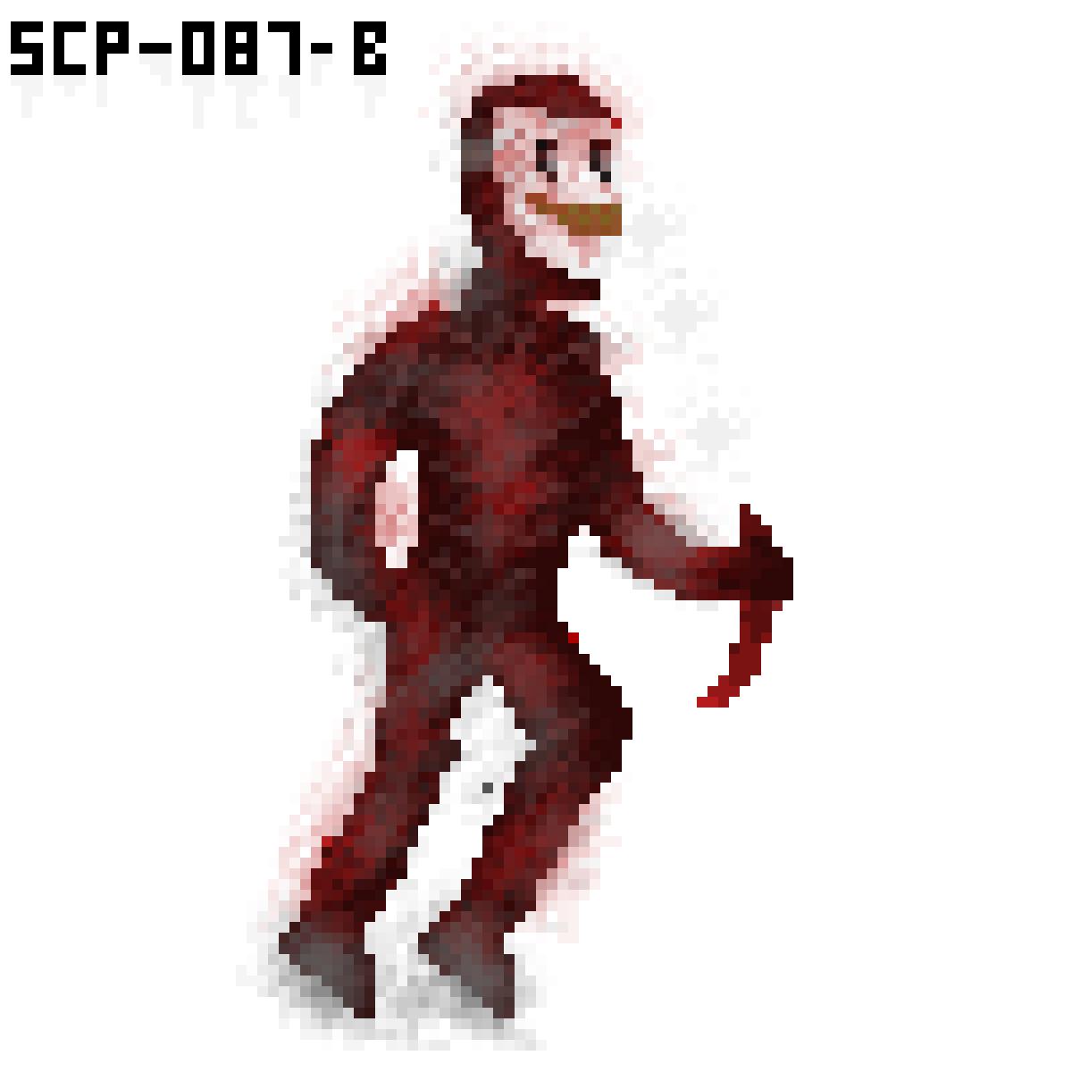 Pixilart - SCP-087-B by SCPpixel