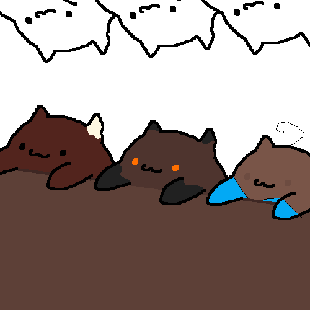 Bongo cat collab by YandereChips