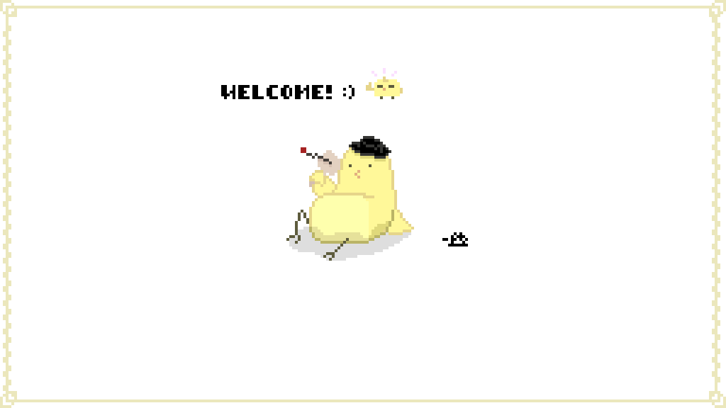 main-image-welcome to ma page  by PixelBird