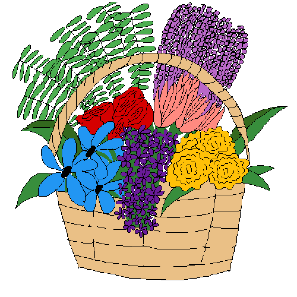 main-image-Flower basket   by Loser21