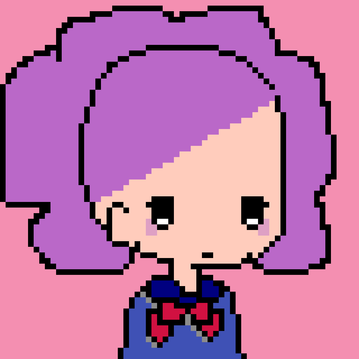 main-image-School girl  by Pinkunicorn