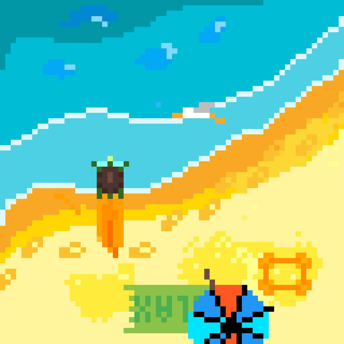 Just a small Beach by PenguTV