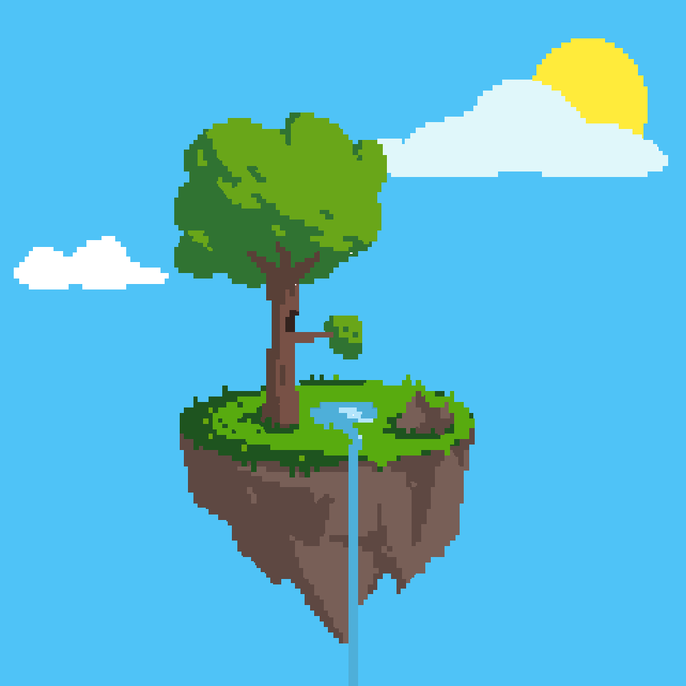 Floating island  by timeislife