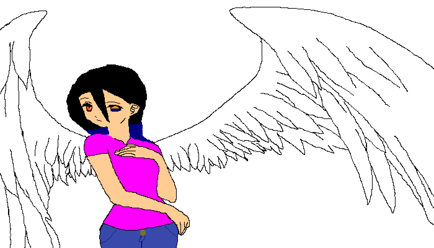 me as a angel 2 by the-matron