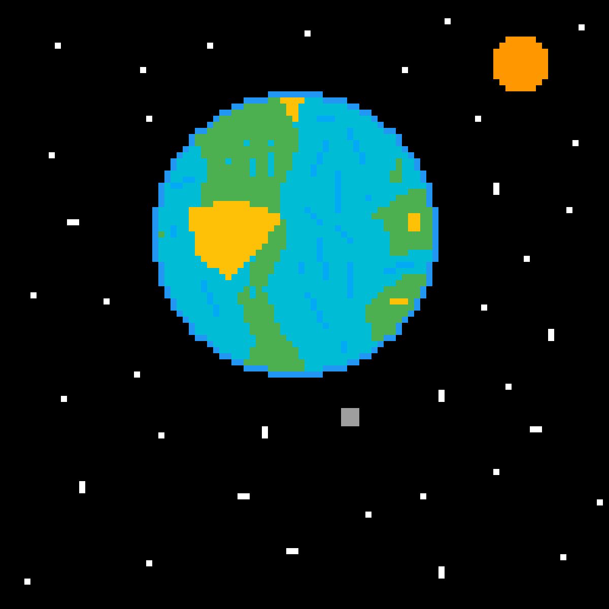 Derpy earth by Pixelart-King