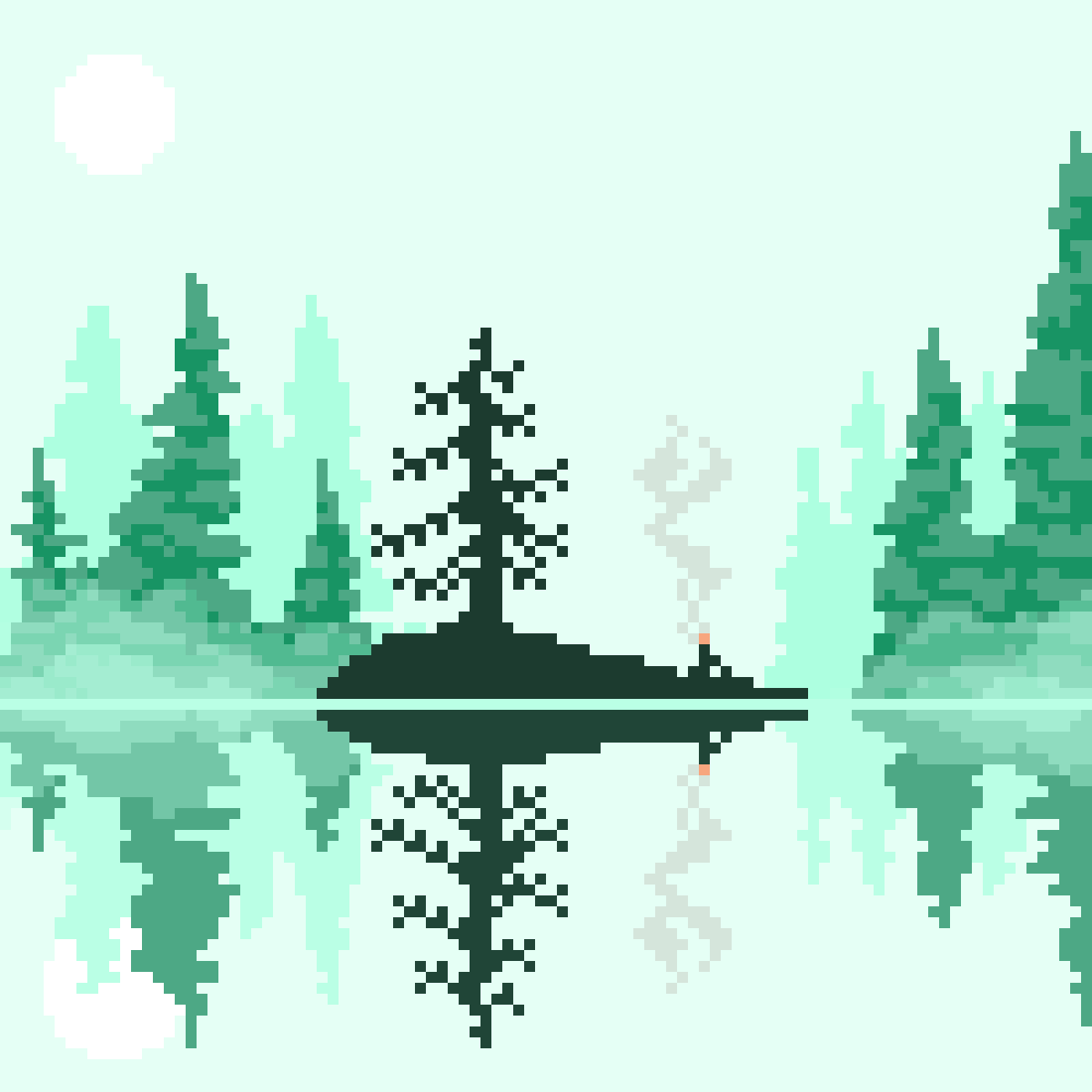 main-image-Morning on the Lake  by 8-bit-adventure