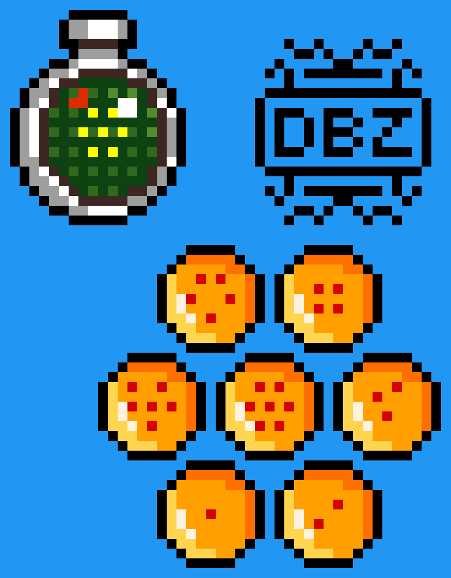 Dragon Balls and Radar by MasterGamer4652